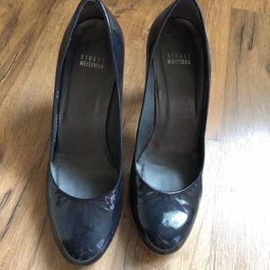 Stuart Weitzman Black Heels Shoes 9.5